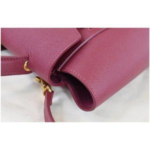 Celine Bags - CELINE Micro Belt Grained Calfskin 2Way